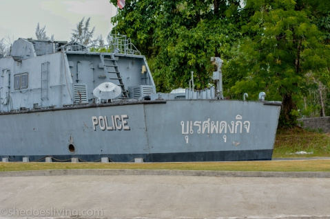 Navy Boat Memorial, Phang  Nga