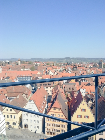 rothenburg ob der tauber tower1