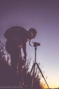 Taking pictures Mount Batur